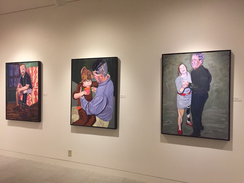 George w bushs paintings at the museum of the southwest glasstire the exhibition begins with more scenic shots men on the golf course bush dancing with a wounded veteran a father interacting with his child stopboris Gallery