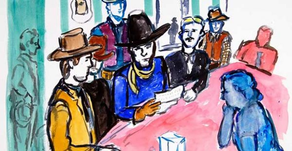 Linda Blackburn: The Law of the Saddle