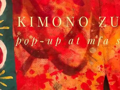 Kimono Zulu Pop-Up at the Museum of Fine Arts, Houston, MFA Shop