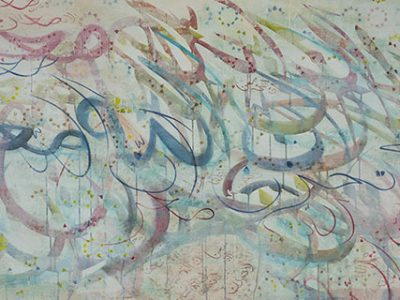 Salma Arastu: Celebration of the Art of Calligraphy: Messages of Peace and Reassurance