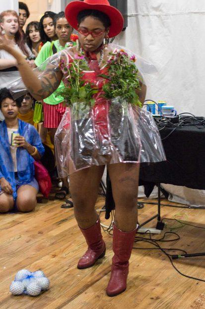 B. Anele performing