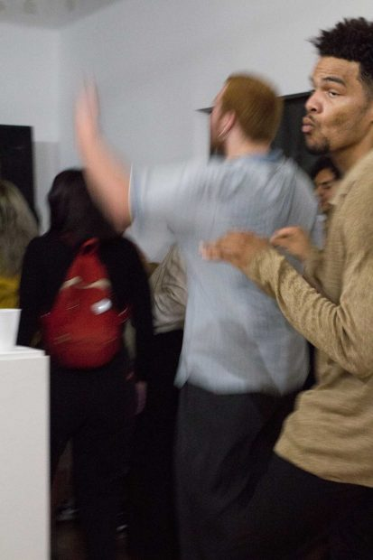 Brittney Anele's show at Private Eye Gallery