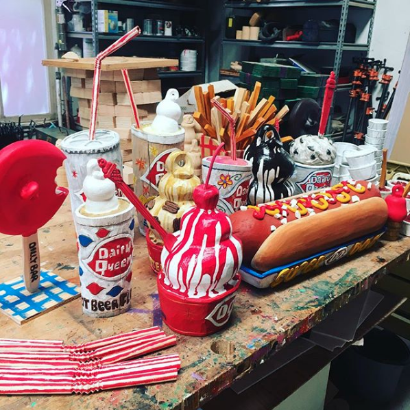 Various Dairy Queen items by Camp Bosworth, 2018