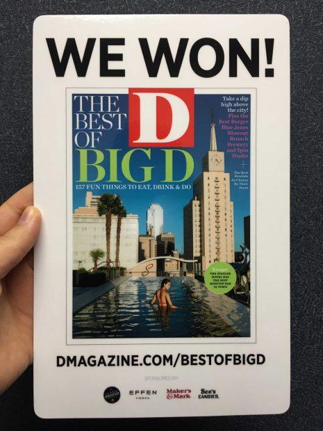 Christina Rees wins D Magazine's Best of Big D's Best Critic Award