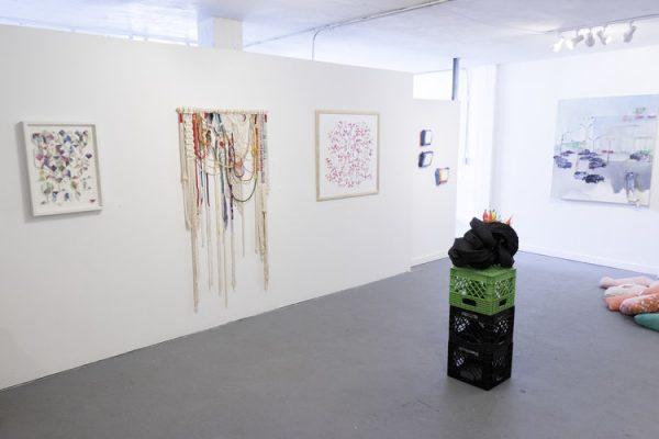 Friendly Neighborhood Abstraction exhibition at Hello Studio