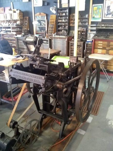 Village Press in New Mexico