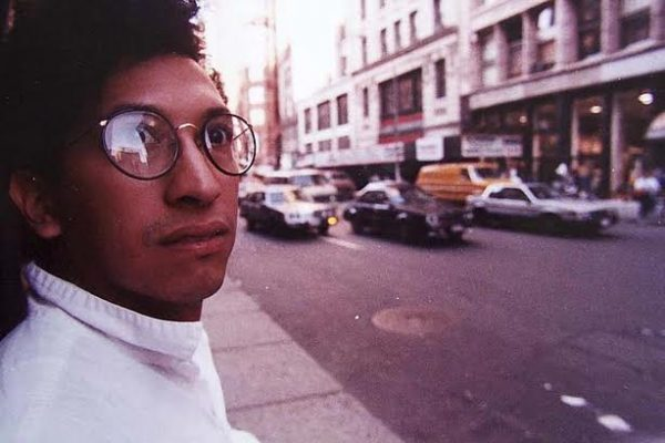 Desoto's Self Portrait in NYC, 1988