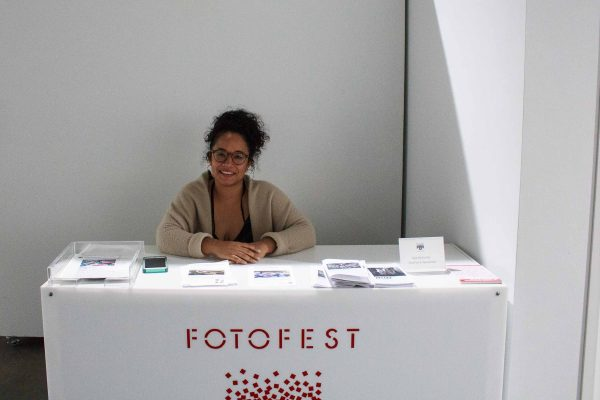 Emily Areta at FotoFest Hurricane Harvey Show