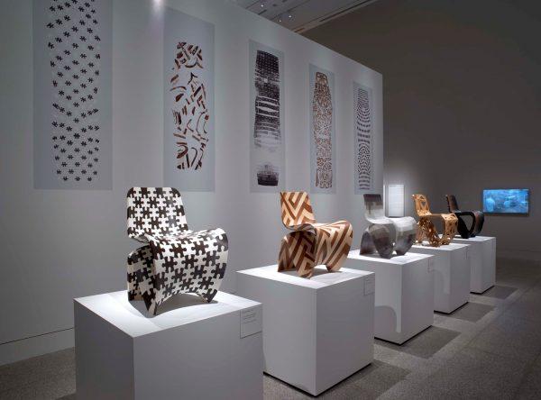 Installation view of Joris Laarman