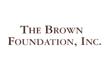 The Brown Foundation Logo
