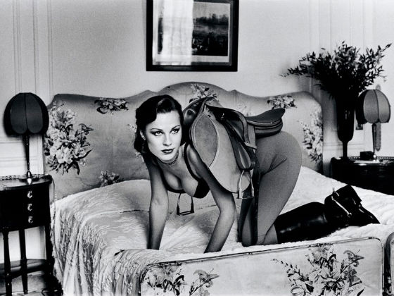 "Helmut Newton, ""Saddle I"" from the series, ""Sleepless Nights,"" 1975-1978"