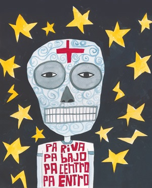 image for the 2009 Día de los Muertos issue of the San Antonio Current
