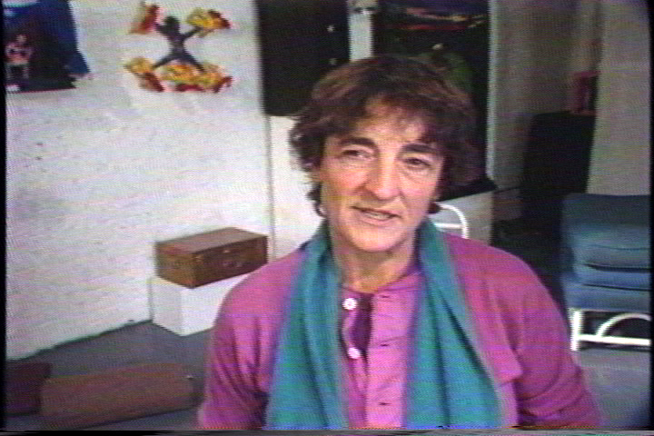 Distinguished writer, curator, editor, lecturer, and activist Lucy Lippard