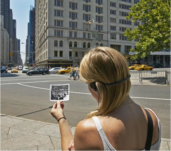 Janet Cardiff, Her Long Black Hair, walk through Central Park