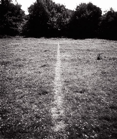 A Line Made By Walking, 1967, Richard Long