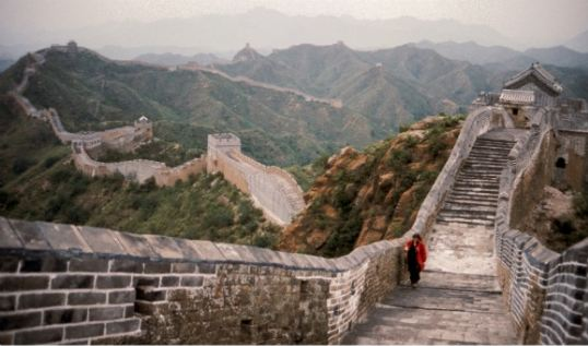 The Lovers – The Great Wall Walk, 1988