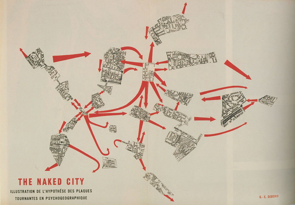 The Naked City, Guy Debord