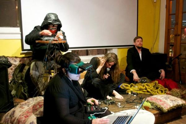 Alex Tu, Aisen Caro Chacin, Melanie Jamison, Tyson Ulrich perform at Continuum Live Art Series