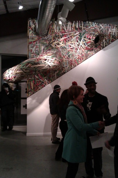 Patrick Renner at Art League Houston