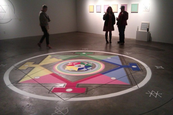 Jesse Bransford at Galveston Artists Residency