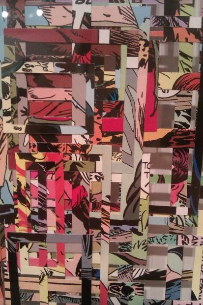 Curtis Gannon at Galveston Arts Center (detail)