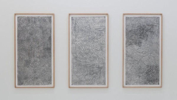 Gabriel Orozco, Havre Caumartin, 1999; Rubbing on Japanese paper with charcoal