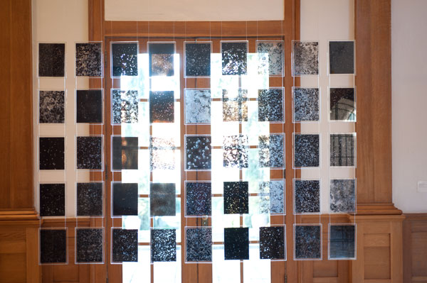 Installation of ShapeShifting: New Methods of Drawing by Bethany Johnson and Ann Tarantino at AMOA-Arthouse at Laguna Gloria, 2012, Courtesy of AMOA-Arthouse, Photo by Erica Nix.