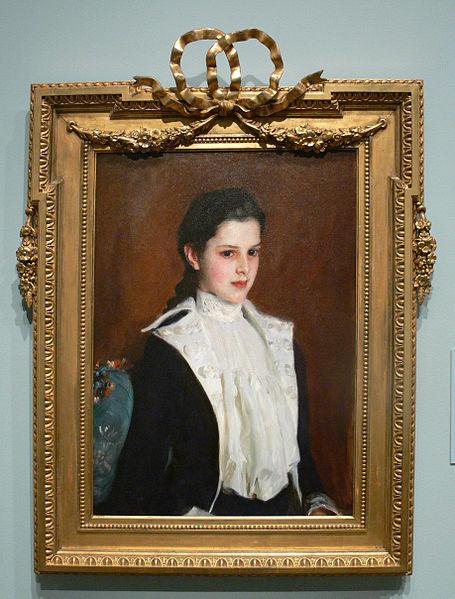 John Singer Sargent 'Portrait of Alice Vanderbilt Shepard' (1888), which the Carter acquired in 1999.