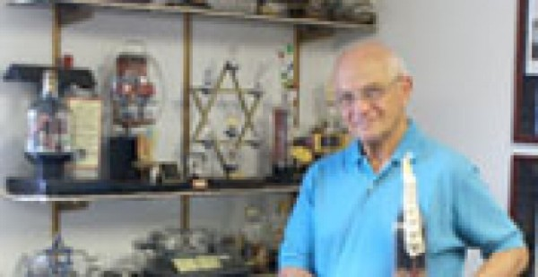 Burton Reckles with Glass Encapsulated Miniatures