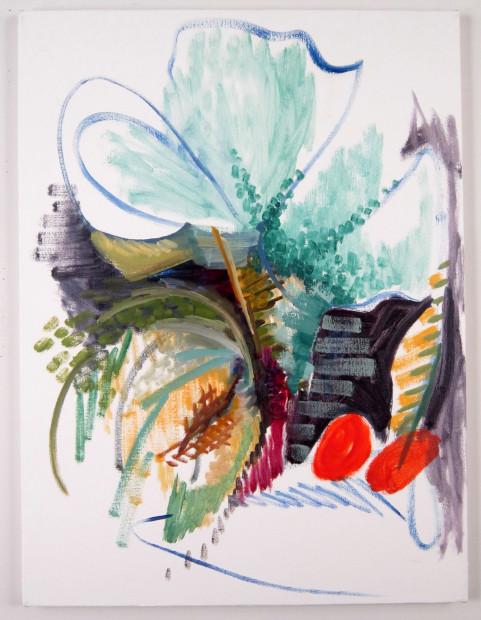 Todd Kelly, Painting, Melon