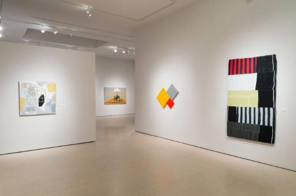 Pat Colville, Robert Ruello, Myke Venable, and Jeremy DePrez at McClain Gallery
