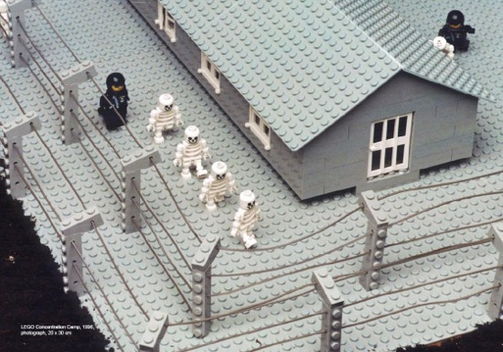 Zbigniew Libera, Lego Concentration Camp Set, 1996 (detail)