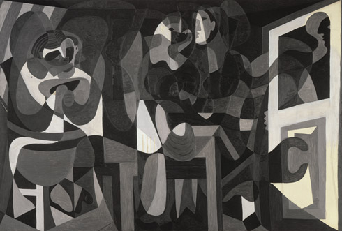 Pablo Picasso, The Milliner's Workshop (Atelier de la modiste), Rue La Boétie, Paris, January 1926. Oil on canvas, 172 x 256 cm. Musée national d'art moderne/Centre de création industrielle, Centre Pompidou, Paris, Gift of the artist, 1947. © 2012 Estate of Pablo Picasso/Artists Rights Society (ARS), New York. Photo: © CNAC/MNAM/Dist. Réunion des Musées Nationaux/Art Resource, NY
