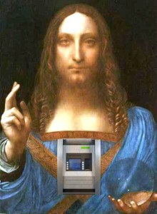 leonardo cash machine