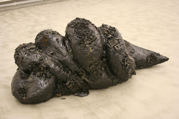 Liu Wei<br />Indigestion II<br />2004<br />Mixed media<br />83 x 214 x 89 cm