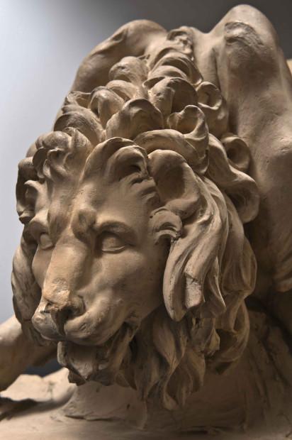bernini lion_detail copy