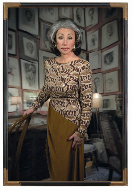 Untitled #474, 2008, Cindy Sherman Chromogenic color print 7 ft. 6 ¾ in. x 60 in. The Museum of Modern Art, New York. Acquired through the generosity of an anonymous donor, Michael Lynne, Charles Heilbronn, and the Carol and David Appel Family Fund © 2012 Cindy Sherman