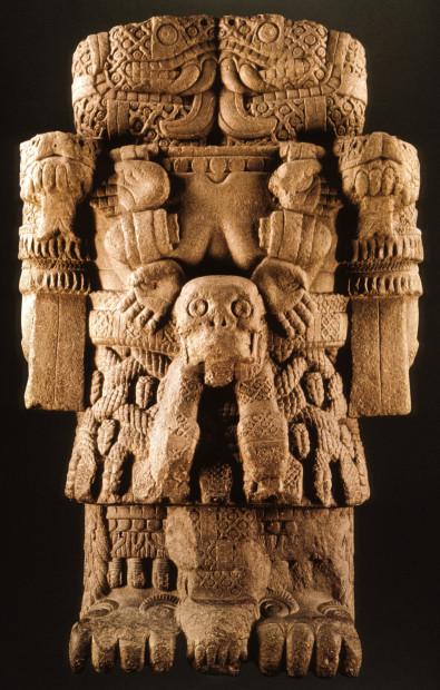 Coatlicue Statue, Aztec, c. 1487-1521