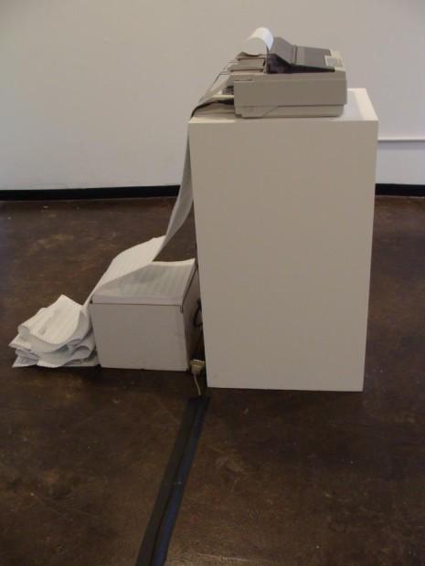 Kris Pierce installation detail.