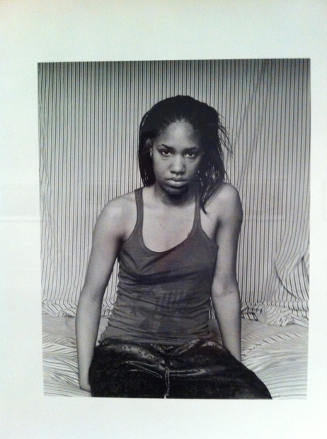LaToya Ruby Frazier, Self-Portrait (March 10 A.M.), 2009