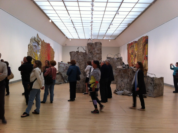 El Anatsui at the Brooklyn Museum