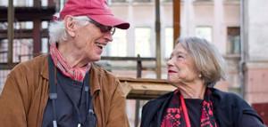 Fred Baldwin and Wendy Watriss in Krasnodar. photo: Dmitry Fisenko