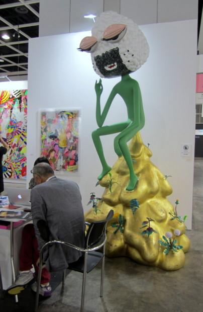 "Makoto Aida, ""The Non-Thinker,"" ed. 1/3, 2012 at Mizuma Art Gallery"