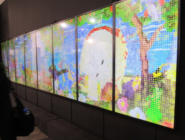 """teamLab, """"United, Fragmented, Repeated and Impermanent World,"""" 2013 at Mizuma Art Gallery"""