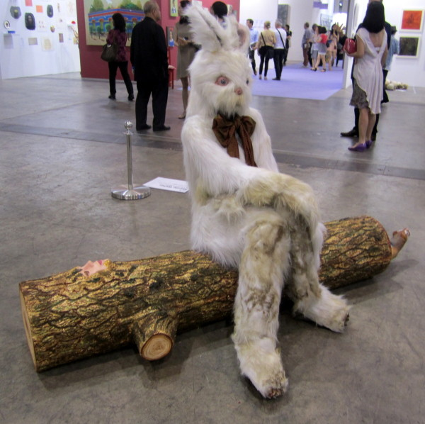 "Marnie Weber, ""Log Lady & Dirty Bunny,"" 2009 at Simon Lee Gallery, London & Hong Kong"