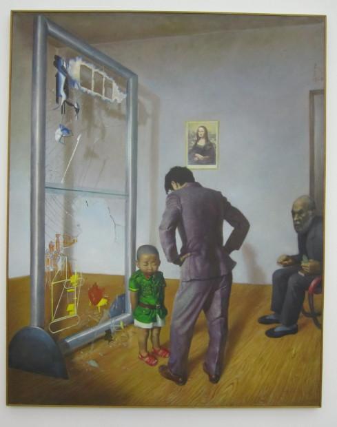 "Wang Xingwei, ""Poor Old Hamilton,"" 1996"