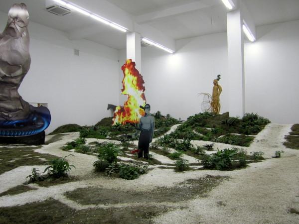 "Xu Zhen, ""Movement Field,"" 2013 at Long March Space"