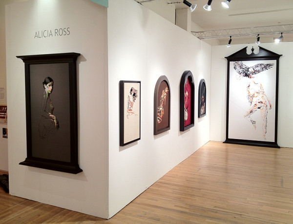 Alicia Ross/Black and White Gallery's Booth at Pulse NYC