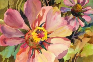 Kay Smith, Christy's Zinnia's. This would make a pretty pillow.