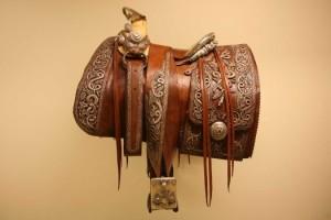 Pancho Villa's saddle